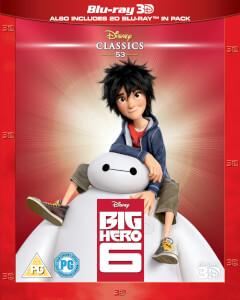 Big Hero 6 3D (Inclusief 2D versie)
