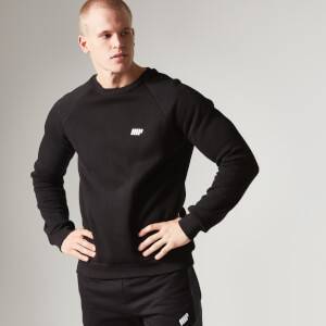Myprotein Men's Crew Neck Sweatshirt – Czarna