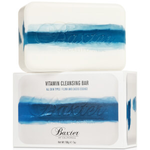 Jabón dermolimpiador Vitamin Cleansing Bar de Baxter of California - flora Cassis 198 g