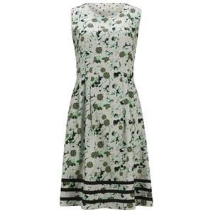 nümph Womens Vera Printed Dress - Subtle Green
