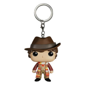 Doctor Who 4th Doctor Pocket Funko Pop! Vinyl Key Chain