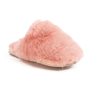 Ted Baker Women's Breae Fluffy Slippers - Light Pink Fux Fur: Image 5