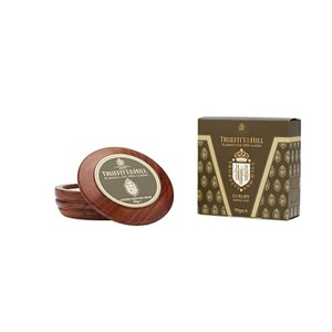 Truefitt & Hill Luxury Shaving Soap in Wooden Bowl: Image 1