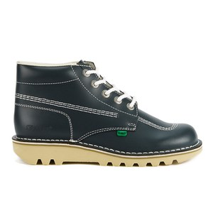 Kickers Men's Kick Hi Leather Boots - Navy