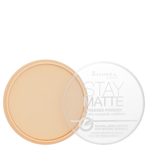 Polvos compactos mate Stay de Rimmel - Transparent