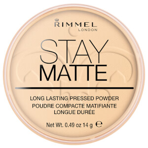 Rimmel Stay Matte Pressed Powder – Transparent