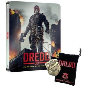 Dredd 3D (Includes 2D Version) - Zavvi Exclusive Limited Edition Steelbook Blu-ray (UK EDITION)