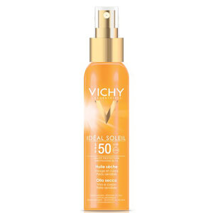 Óleo Corporal Ideal Soleil da Vichy FPS 50 125 ml