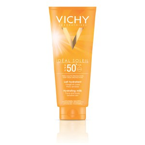 Vichy Ideal Soleil Face og Body Milk SPF 50 300ml.