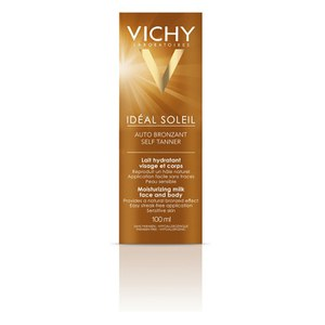 Vichy Ideal Soleil Self Tan Face and Body 100ml.