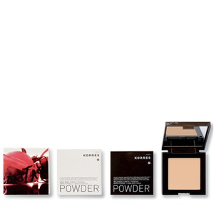 KORRES Natural Wild Rose Brightening Compact Powder (Various Shades)