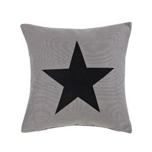 Big Star Cushion - Grey