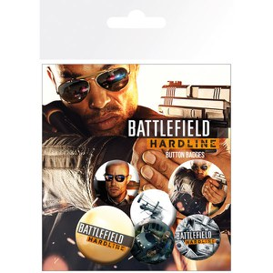 Battlefield Hardline Soldiers - Badge Pack