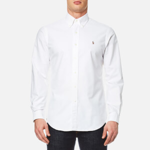 Polo Ralph Lauren Men's Long Sleeved Shirt - White