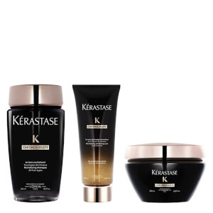 Kérastase Chronologiste Revitalizing Shampoo, Care Balsamo and Balm trattamento Trio