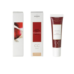 Korres Wild Rose CC Cream - Light SPF30 (30ml)