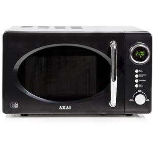 Akai A24006 Digital Microwave - Black - 700W