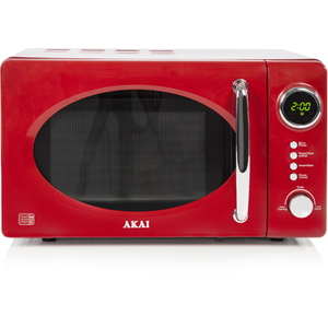 Akai A24006R Digital Microwave - Red - 700W