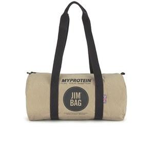 Спортивная брезентовая сумка-бочонок Myprotein - Желто-коричневый/Черный Цвет