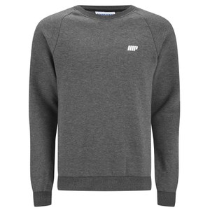 Myprotein Men's Crew Neck Sweatshirt - Charcoal