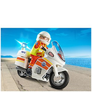 Playmobil Coast Guard Emergency Motorbike (5544)