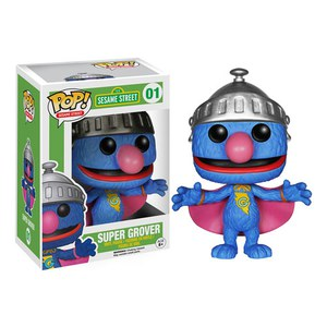 Figurine Pop! Vinyl Sesame Street Super Grover