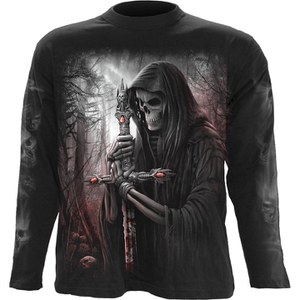 Spiral Men's SOUL SEARCHER Long Sleeve T-Shirt - Black