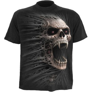 Spiral Men's CAST OUT T-Shirt - Black