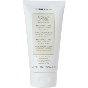 Korres Milk Proteins Gentle Cream Foaming Cleanser (150 ml)