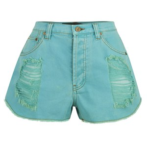 MINKPINK Women's Riptide Slasher Shorts - Aqua