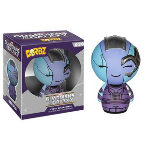 Marvel Guardians of the Galaxy Nebula Vinyl Sugar Dorbz Figur