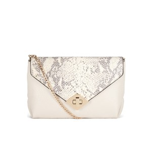 Dune Ediamond Envelope Clutch Bag - Cream