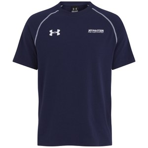 Camiseta de Algodón para Hombres Escape Charged Under Armour- Color Azul Marino