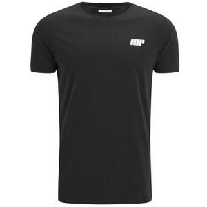 Myprotein Herren Longline kurzärmliges T-Shirt, Schwarz