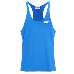 Myprotein Men's Longline Stringer Vest, Blue