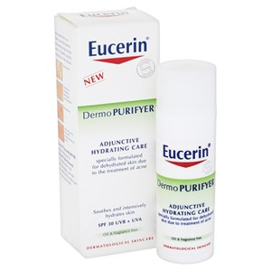 Eucerin® Dermo PURIFYER Adjunctive Hydrating Care SPF 30 UVB + UVA (50ml)