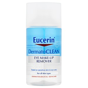 Eucerin® DermatoCLEAN Eye Make-Up Remover (125ml)