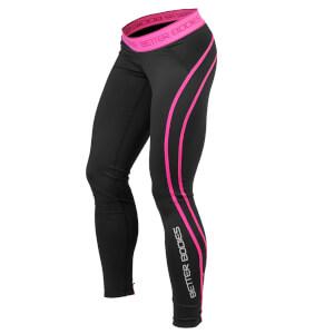 Better Bodies Athlete Tights - Black/Pink