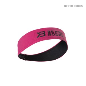 Better Bodies Hair Sweatband - Hot Pink