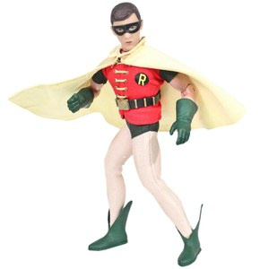 Mego DC Comics Batman TV Series 1966 Robin 8 Inch Action Figure