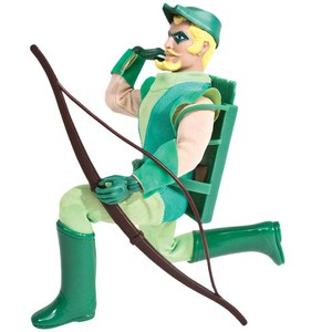 Mego DC Comics Superman Super Power Green Arrow 8 Inch Action Figure