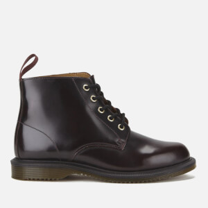 Dr. Martens Women's Emmeline Arcadia 5-Eye Boots - Cherry Red