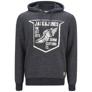 Jack & Jones Men's Originals Paint Sweat Hoody - Dress Blue