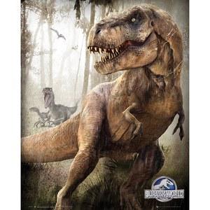 Jurassic World T-Rex - 16 x 20 Inches Mini Poster