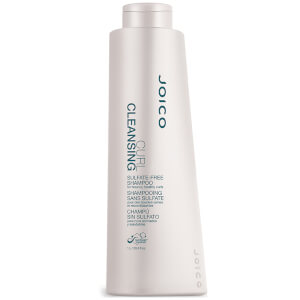 Joico Curl Cleansing Sulfate-Free Shampoo for Bouncy, Healthy Curls (1000ml)