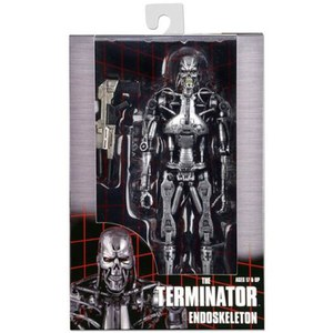 NECA Terminator Endoskeleton 7 Inch Action Figure In Window Box