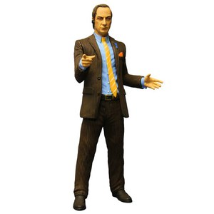 Breaking Bad Figura Saul Goodman Brown Suit Previews Exclusive