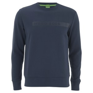 BOSS Green Men's Salbo Sweatshirt - Navy