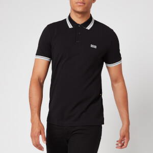 BOSS Men's Paddy Tipped Polo Shirt - Black