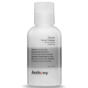 Anthony detergente viso all'acido glicolico 60 ml